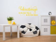"Autism ""Takiwatanga"" wall art sticker, quote, vinyl transfer, Decoration"